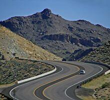 Lunar Highway-Nevada, U.S.A. by GW-FotoWerx