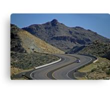 Lunar Highway-Nevada, U.S.A. Canvas Print
