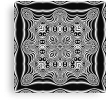 The Mathematics of Art - Escher meets Mandelbrot Canvas Print