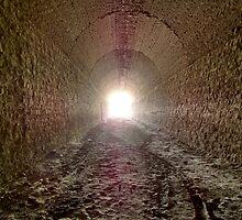 Train tunnel of Gaiman - Patagonia Argentina by Tomas Sironi