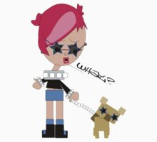 Susy and her dog by 2piu2design