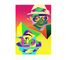 Psychedelic Fear and Loathing Art Print