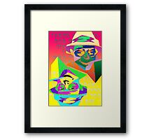 Psychedelic Fear and Loathing Framed Print