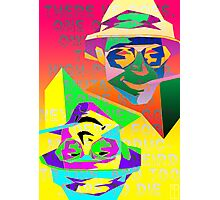 Psychedelic Fear and Loathing Photographic Print
