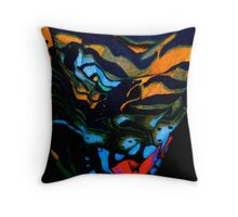 The Working Alliance With The Monster Throw Pillow