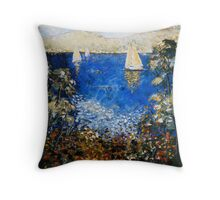 ACROSS THE DERWENT Throw Pillow