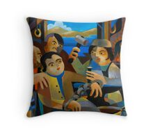 THE RELEASE OF MATTHEW BRADY Throw Pillow