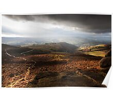 View from Higger Tor Poster