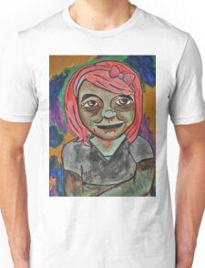Nervous Girl Unisex T-Shirt