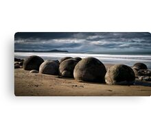 Moeraki Boulders - New Zealand Canvas Print