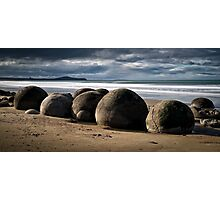Moeraki Boulders - New Zealand Photographic Print