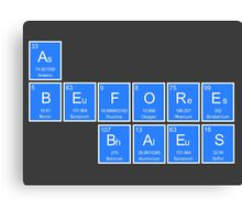 A's Before Baes Periodic Table Shirt Canvas Print