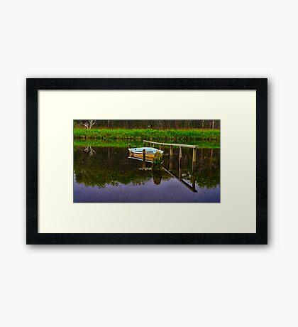 """""""Floodtide Reflections"""" Framed Print"""