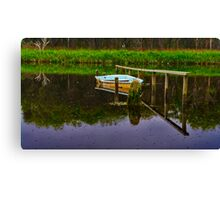 """Floodtide Reflections"" Canvas Print"