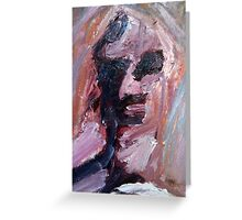 Zombie Painting I Greeting Card