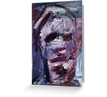 Zombie Painting II Greeting Card