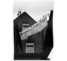 Cobh washing line Poster