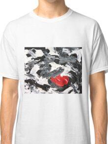 Black, White, & Red  Classic T-Shirt