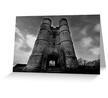 The Gate House - Donnington Castle Greeting Card