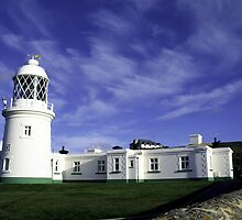 Pendeen Lighthouse by Peter Doré
