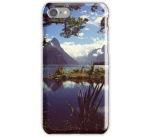 Milford Sound in Fiordland National Park iPhone Case/Skin