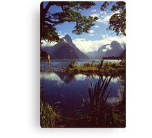 Milford Sound in Fiordland National Park Canvas Print