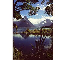Milford Sound in Fiordland National Park Photographic Print
