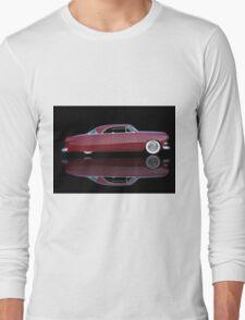 1951 Ford Custom Victoria 'Reflections' Long Sleeve T-Shirt