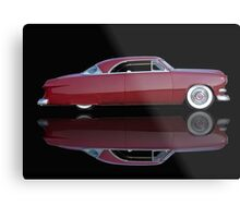 1951 Ford Custom Victoria 'Reflections' Metal Print