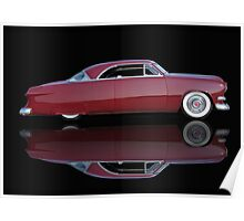 1951 Ford Custom Victoria 'Reflections' Poster