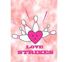 love strikes Photographic Print