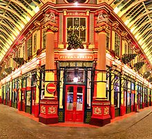Reiss - Pizza Express - The Pen Shop - Leadenhall Market Series - London - HDR by Colin J Williams Photography