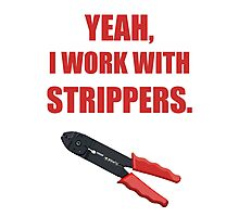 Wire Stripper Humour Photographic Print