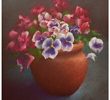 Pansies by Alan Stevens