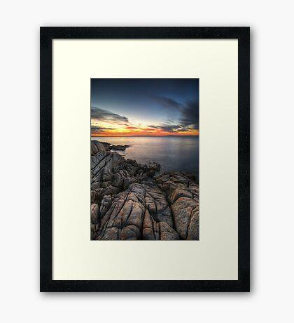 Martha's Point - Mt Martha, Australia Framed Print