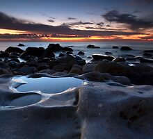 Hallett Cove Blue Hour by Bill  Robinson