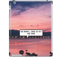 Me time iPad Case/Skin