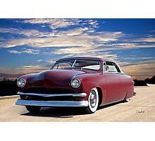 1951 Ford Custom Victoria IV Photographic Print