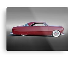 1951 Ford Custom Victoria III Metal Print