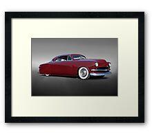 1951 Ford Custom Victoria II Framed Print