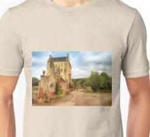Delgatie Castle, Folly Wall (near Turriff, in Aberdeenshire, Scotland) Unisex T-Shirt