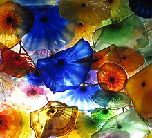 Glass Roof, Bellagio Casino by Ashlee Betteridge