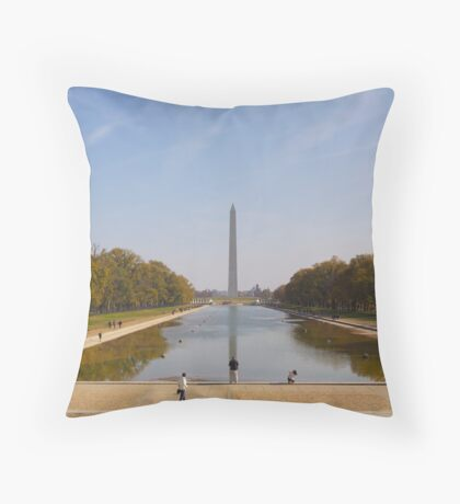Washington Monument, DC Throw Pillow