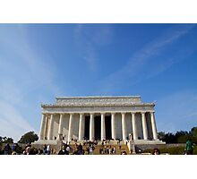 Lincoln Memorial, Washington DC Photographic Print