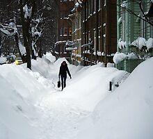 Winter street by Bluesrose