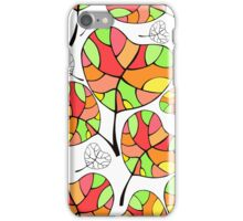 Leaves. Multi-colored leaf. iPhone Case/Skin