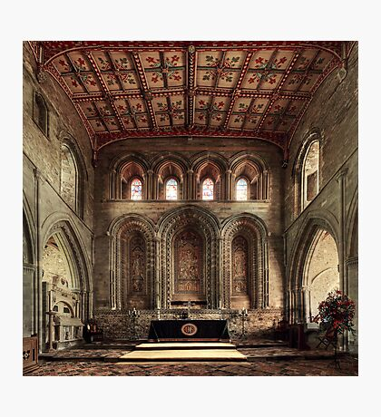 Altar, St David's Cathedral, Pembrokeshire, Wales Photographic Print