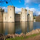 Bodium Castle: East Sussex, UK. by DonDavisUK
