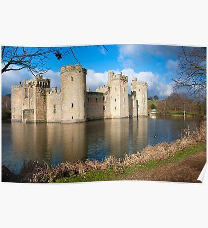 Bodium Castle: East Sussex, UK. Poster