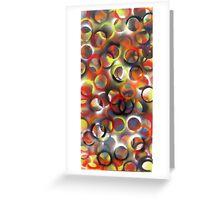 Ellipse  24 x 60  Spray Paint  2010  Greeting Card